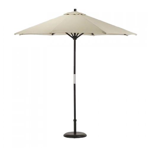 Зонт белый прямой