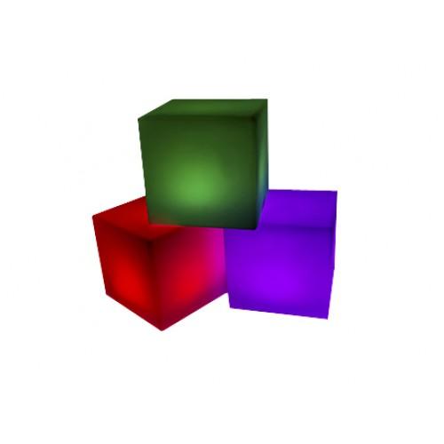 Куб с подсветкой 40x40 см
