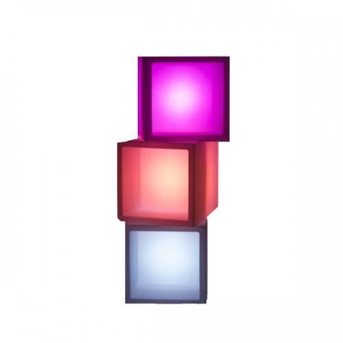 Куб витрина с подсветкой