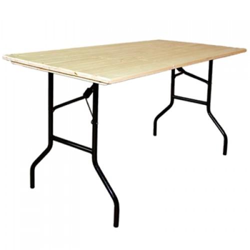 Деревянный стол для мероприятий