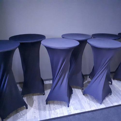 Накидка на барный стол черная